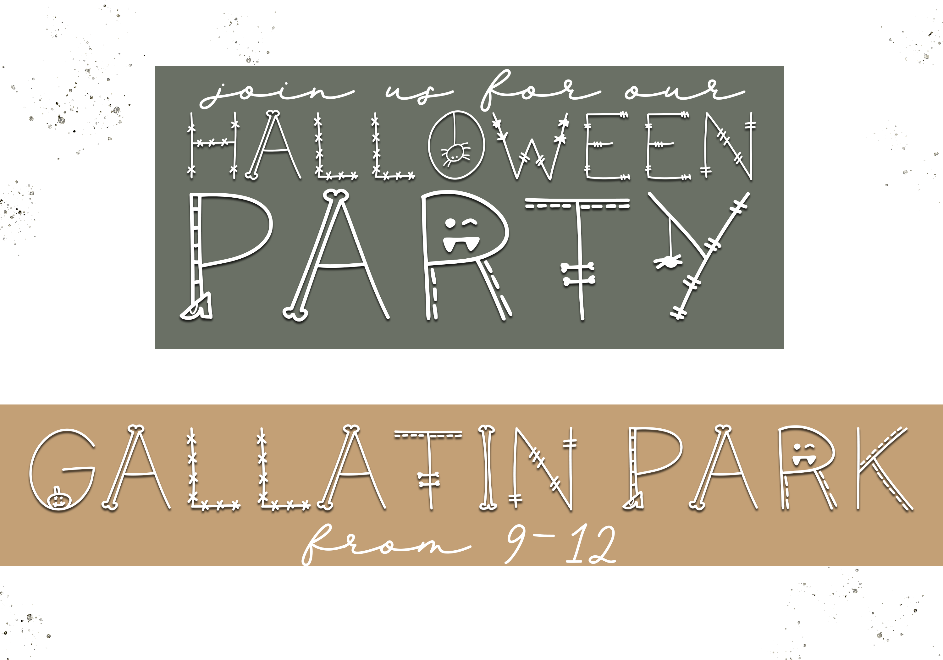 Skeleton - A Fun Halloween Font example image 5