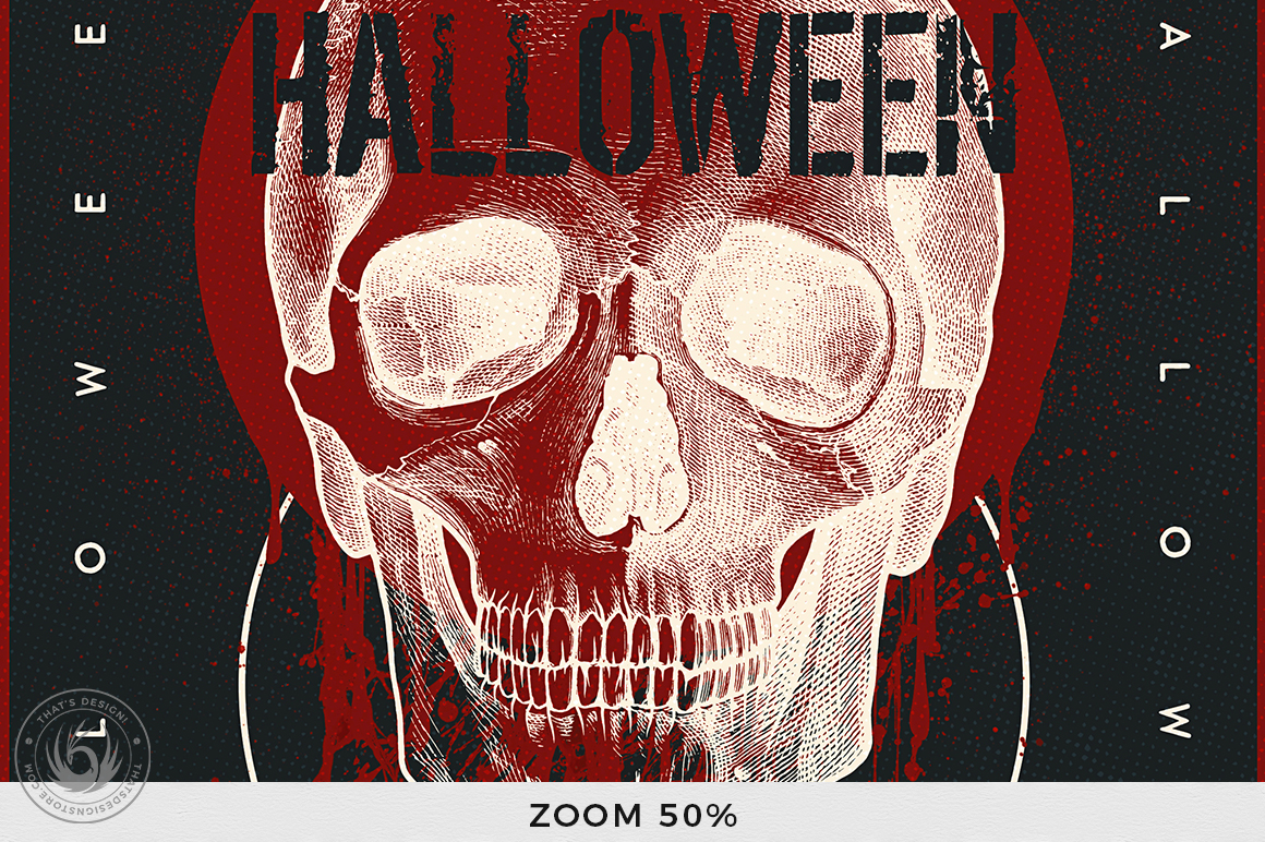 Halloween Flyer Template V25 example image 7