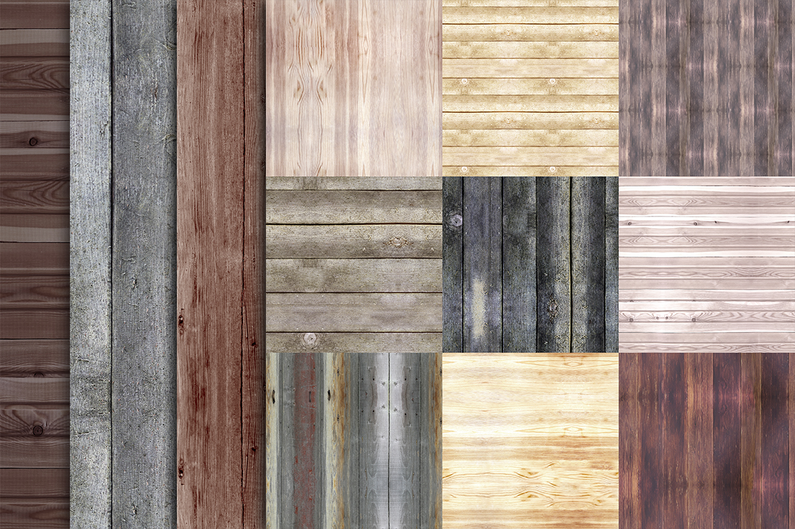 33 wood seamless patterns example image 2