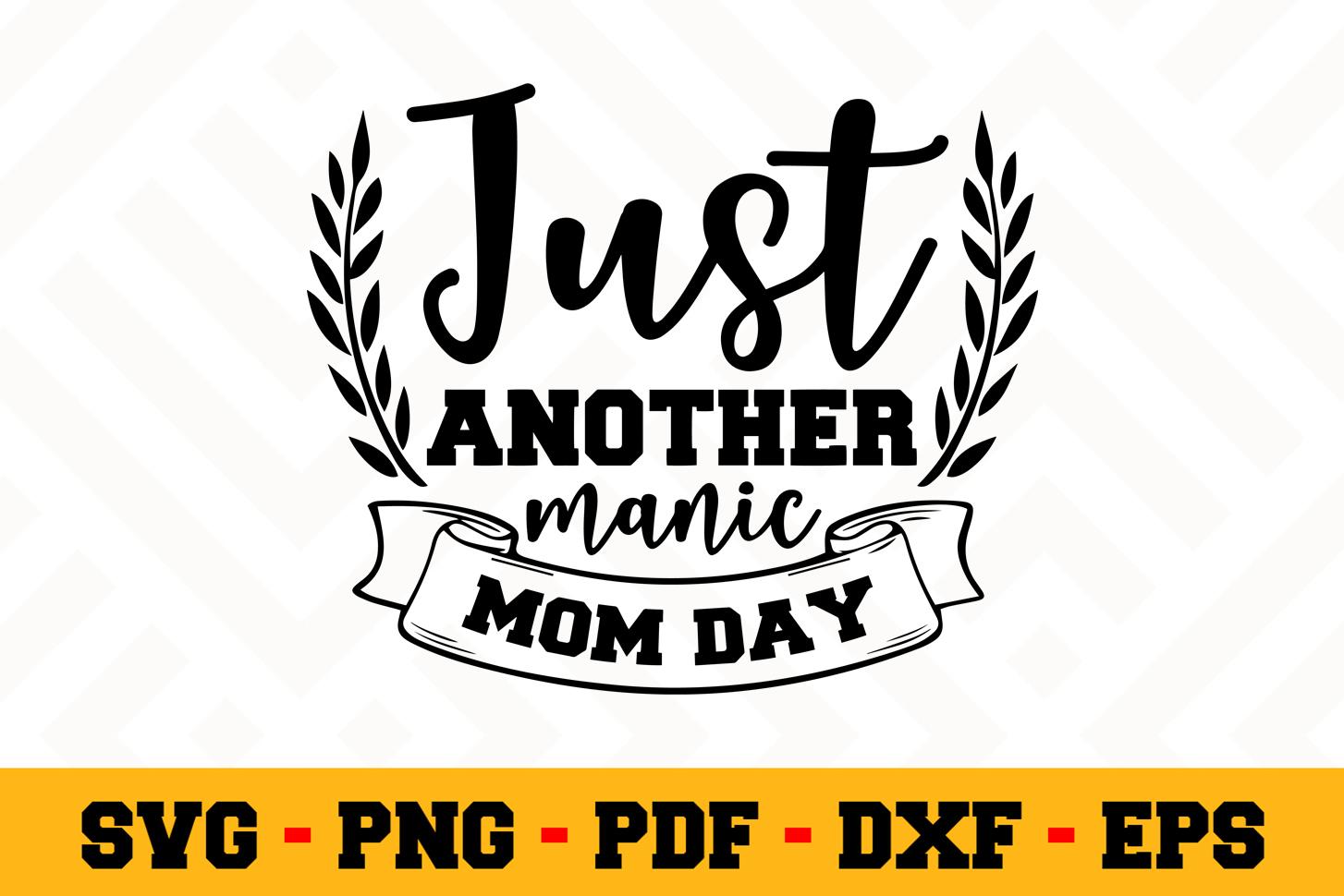 Mom SVG Design n486 | Mother SVG Mom Cut File example image 1