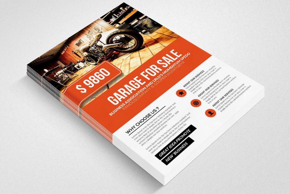 Garage Sale Promo Flyer Templates example image 3