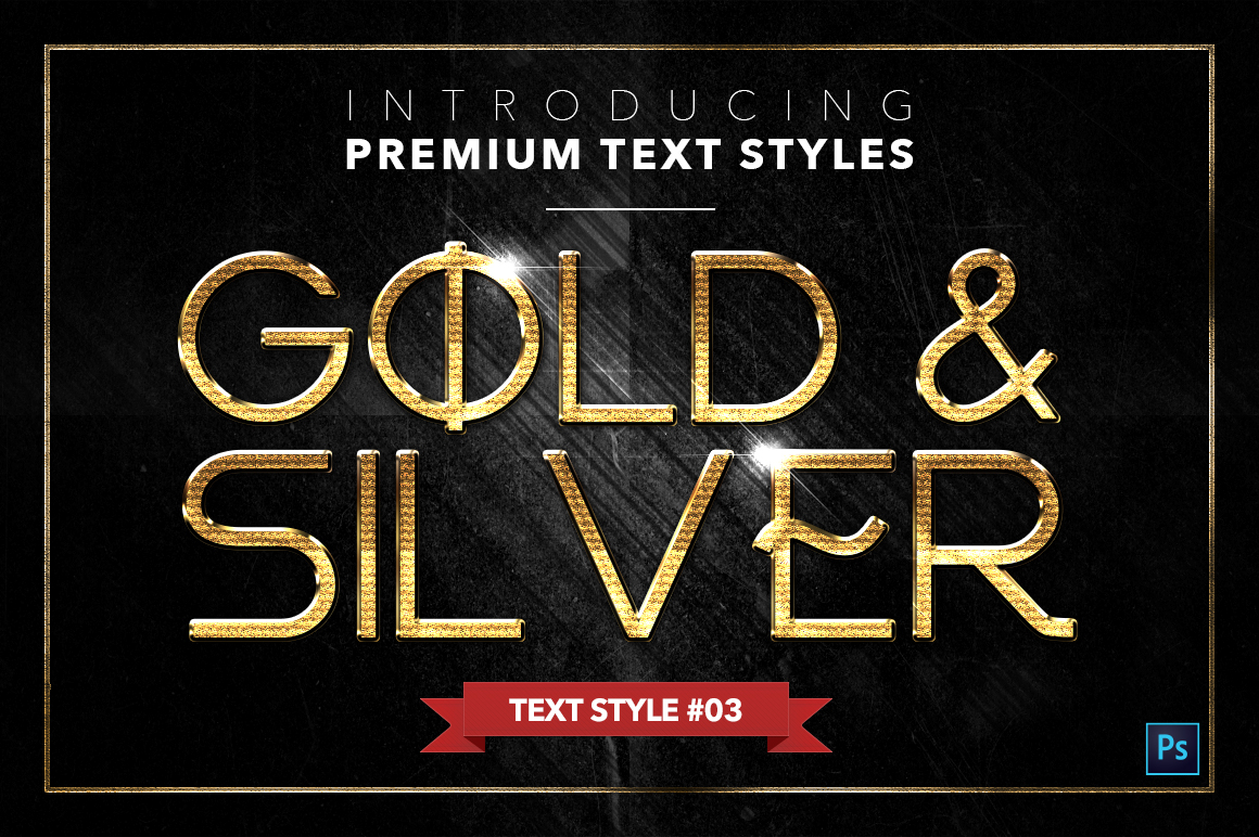Gold & Silver #4 - 20 Text Styles example image 21