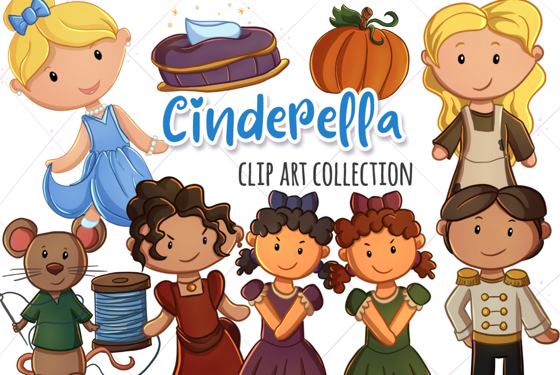 The Fairy Tale Graphics Bundle! example image 10
