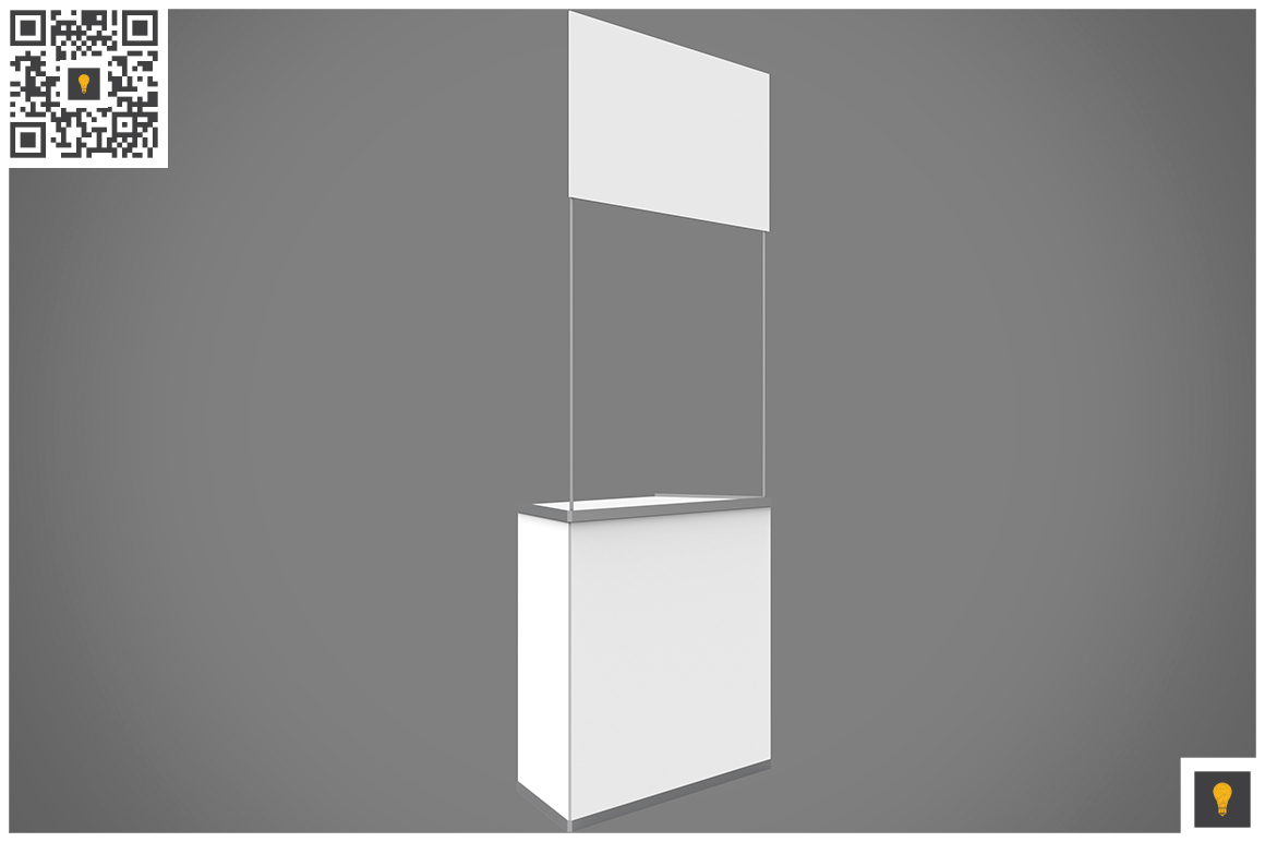Promo Counter 3D Render example image 3