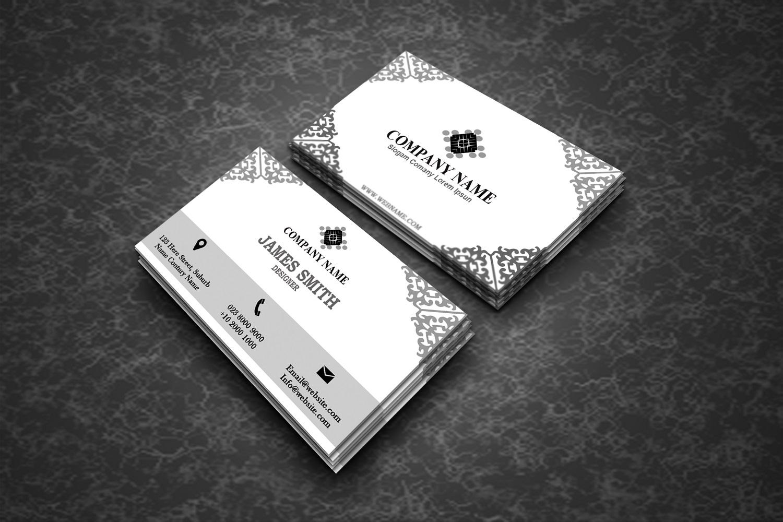 Elegant Business Card example image 2