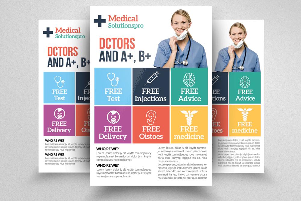 Medical Doctor Flyer Template
