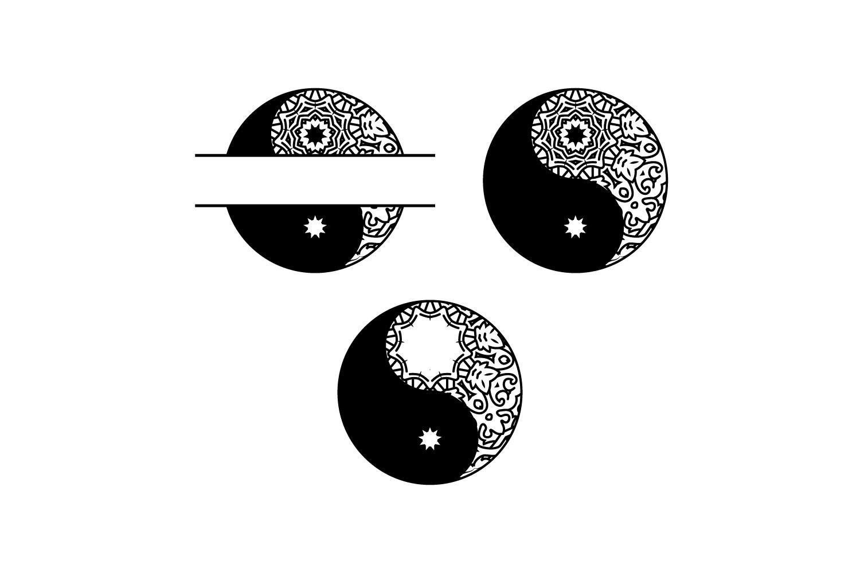 YIN AND YANG MANDALA example image 2