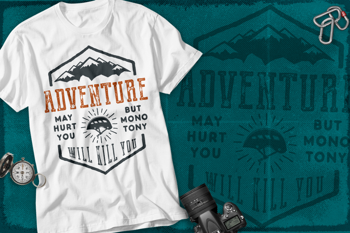 Spring Adventure Motivational Labels example image 3