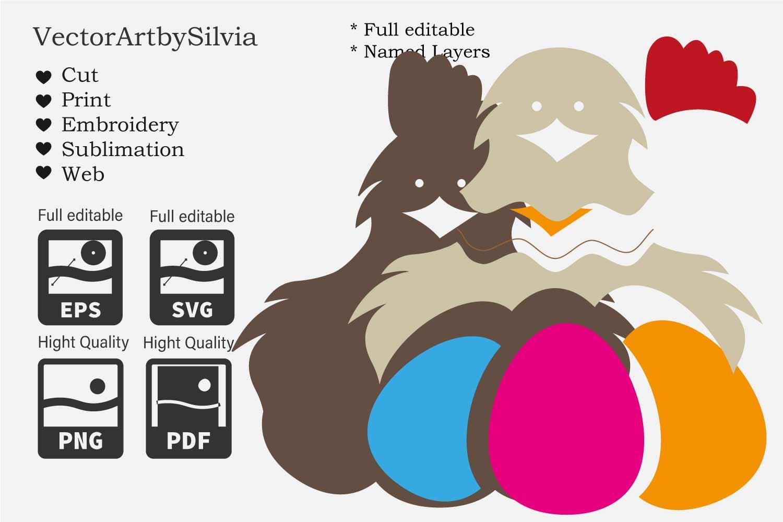 Easter Bundle - Cut Files - 5 Designs example image 7