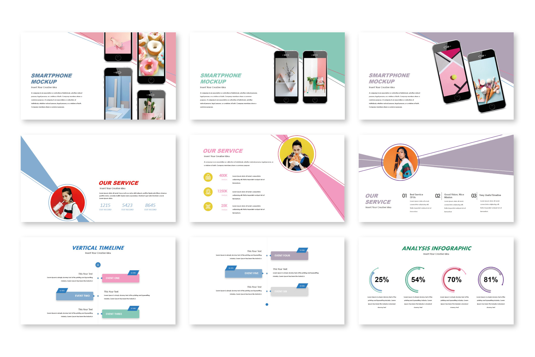Fortune Creative Keynote Templates example image 4