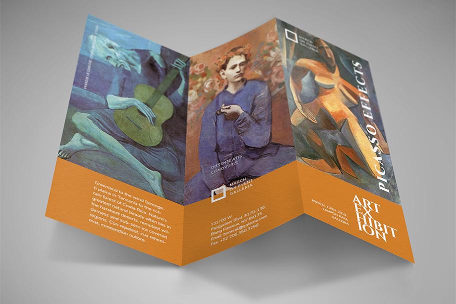 Art Exhibition Brochure example image 2