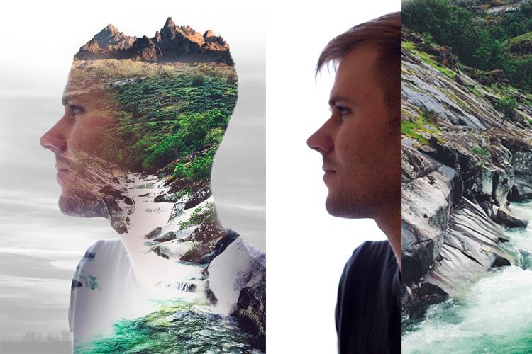 Multiple Exposure Photoshop Action example image 8