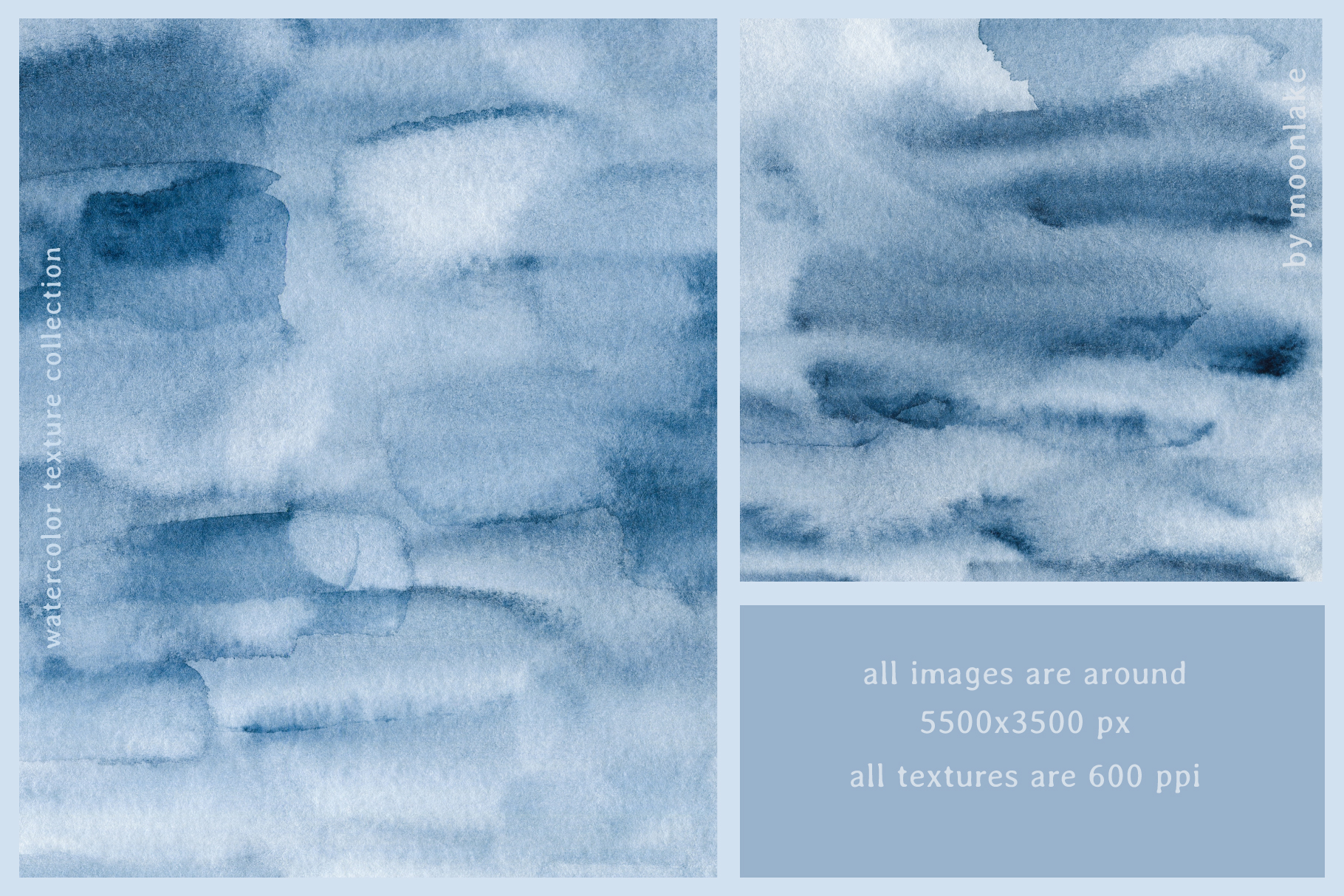 Watercolor Texture Collection example image 4