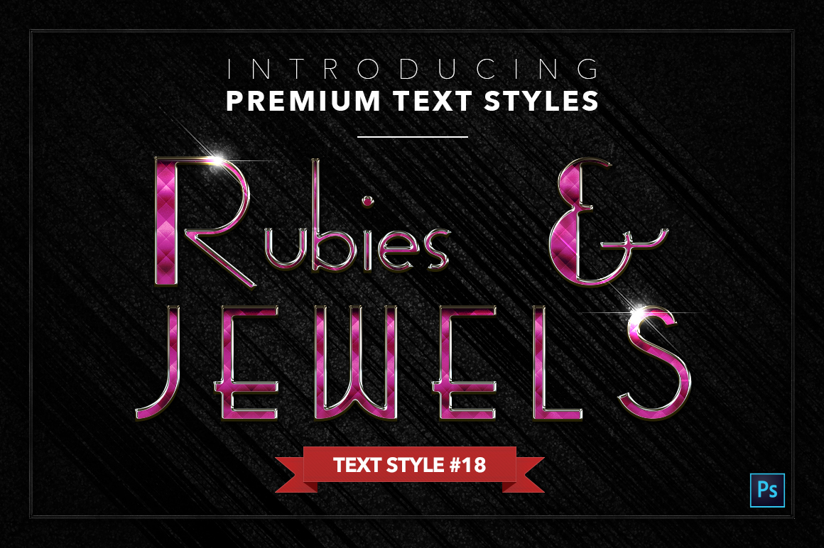 Rubies & Jewels #1 - 20 Text Styles example image 19
