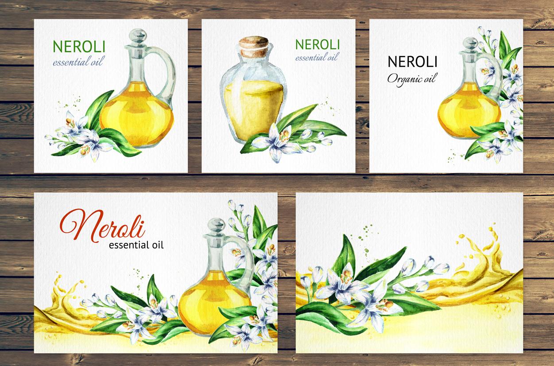 Neroli. Watercolor collection example image 6