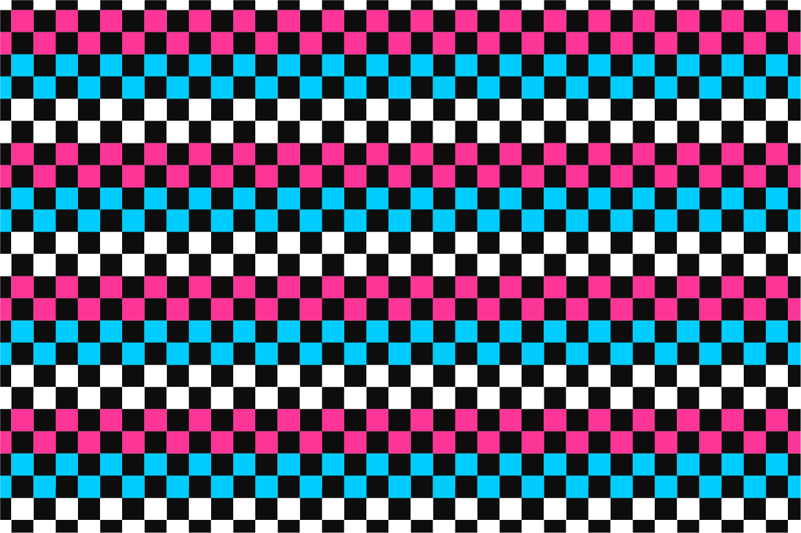 Geometric seamless color patterns. example image 2