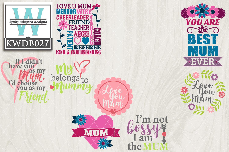 Mothers SVG - Mothers Day Bundle KWDB027 example image 2