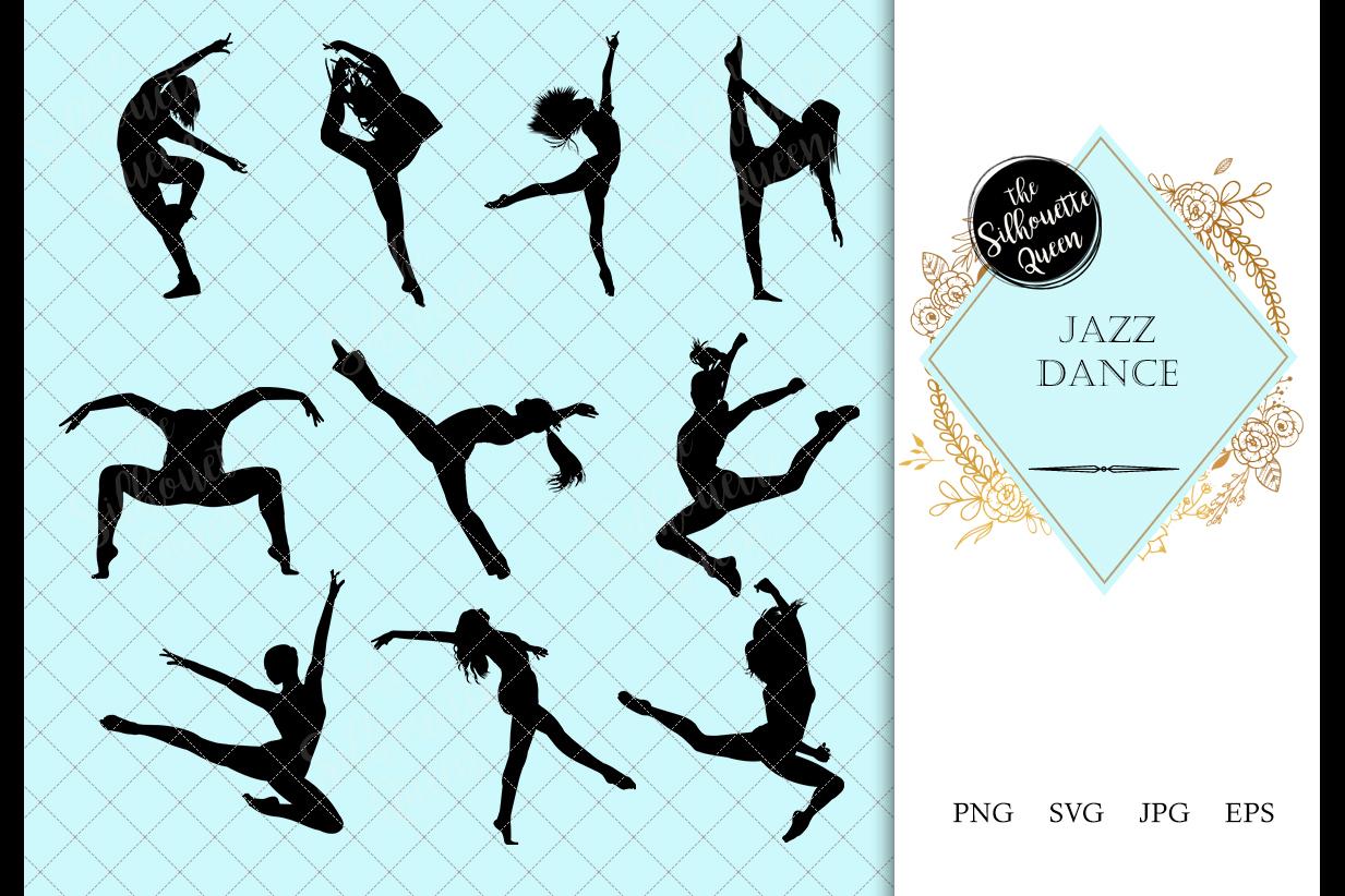Jazz Dance Svg Dance Cricut Files Black Dancer Silhouette 142743 Illustrations Design Bundles