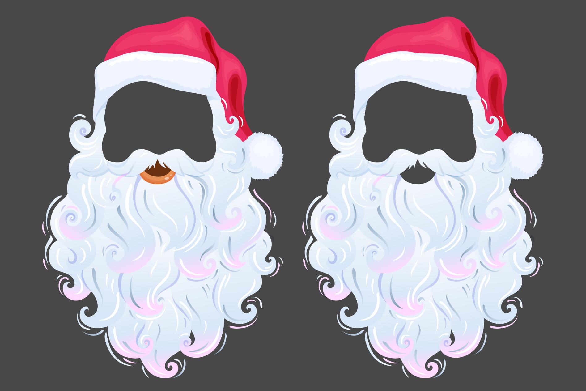 Santa Claus photo props example image 1