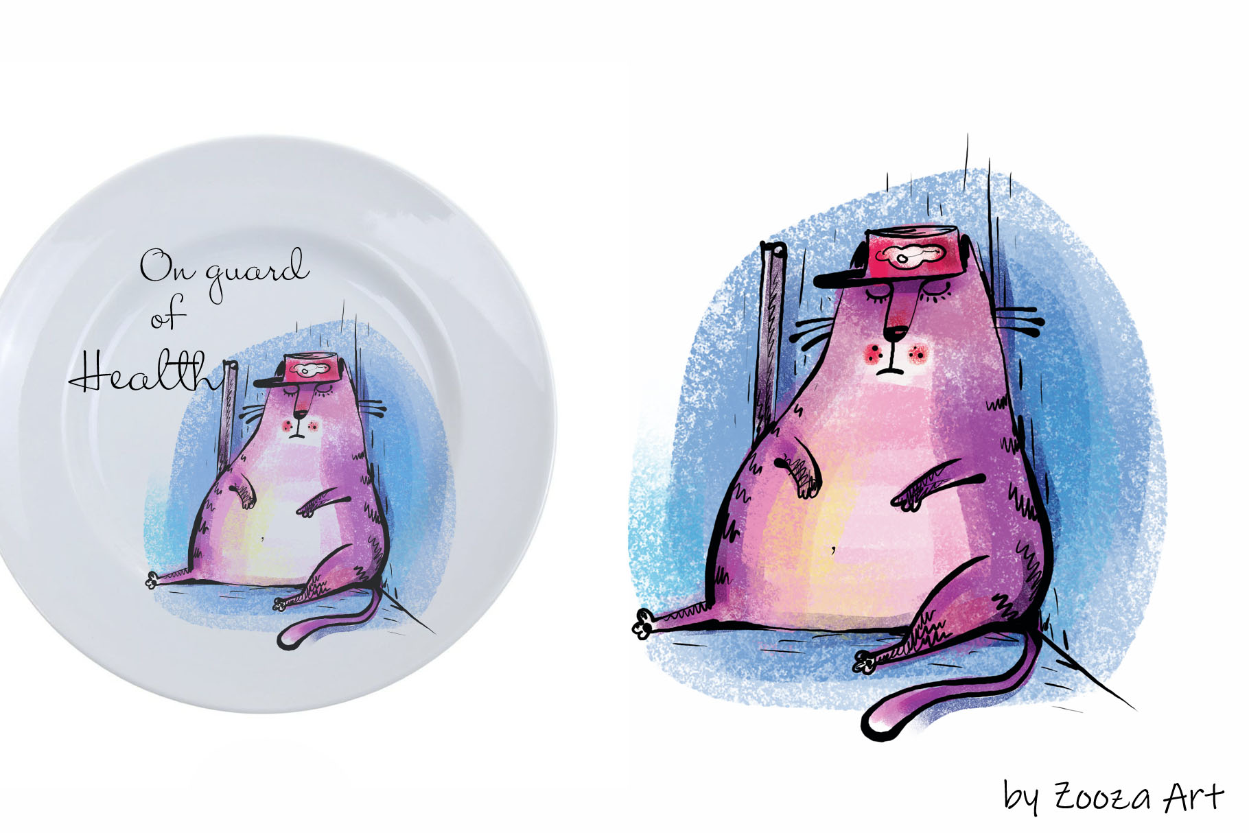 Wild Wild Cat - 14 illustrations example image 3