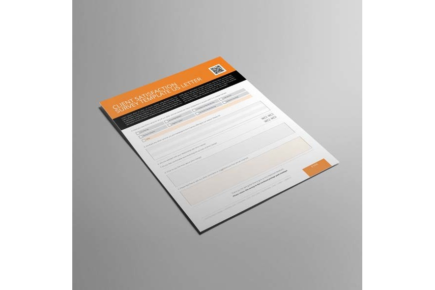 Client Satisfaction Survey Template US Letter example image 3