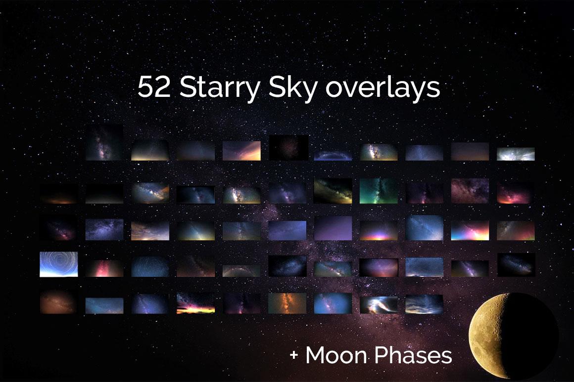 317 Sky Overlays BUNDLE example image 8
