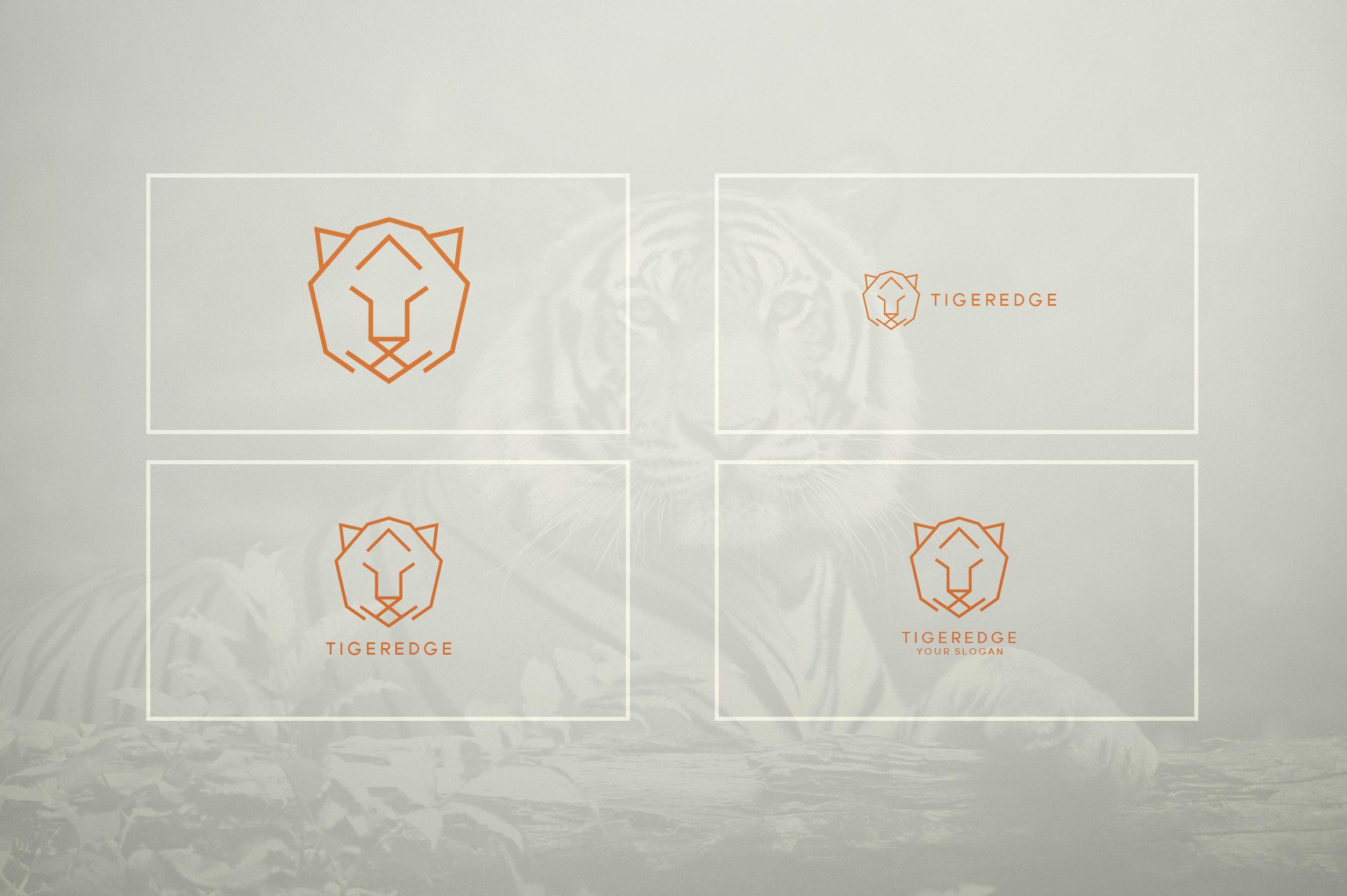 17 Geometric Animal Icons and Logos example image 10