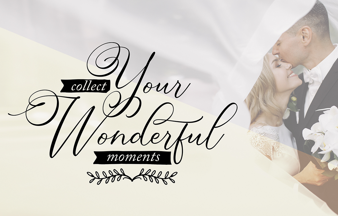 Simply Harmony | ASimply Stylistic Modern Calligraphy Script example image 2