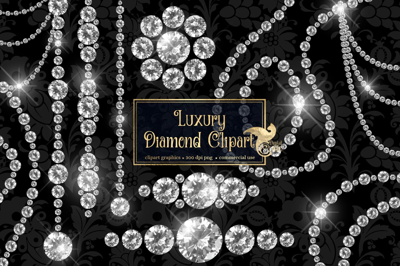 Luxury Diamond Clipart example image 1
