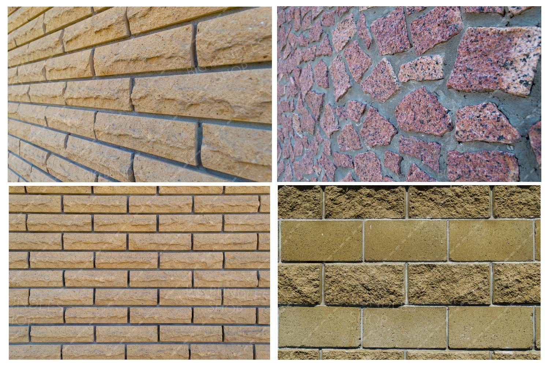 Bricks, fence and greenery example image 11