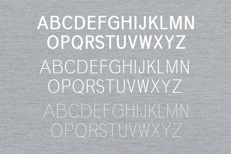 Deron Sans Serif Typeface example image 2