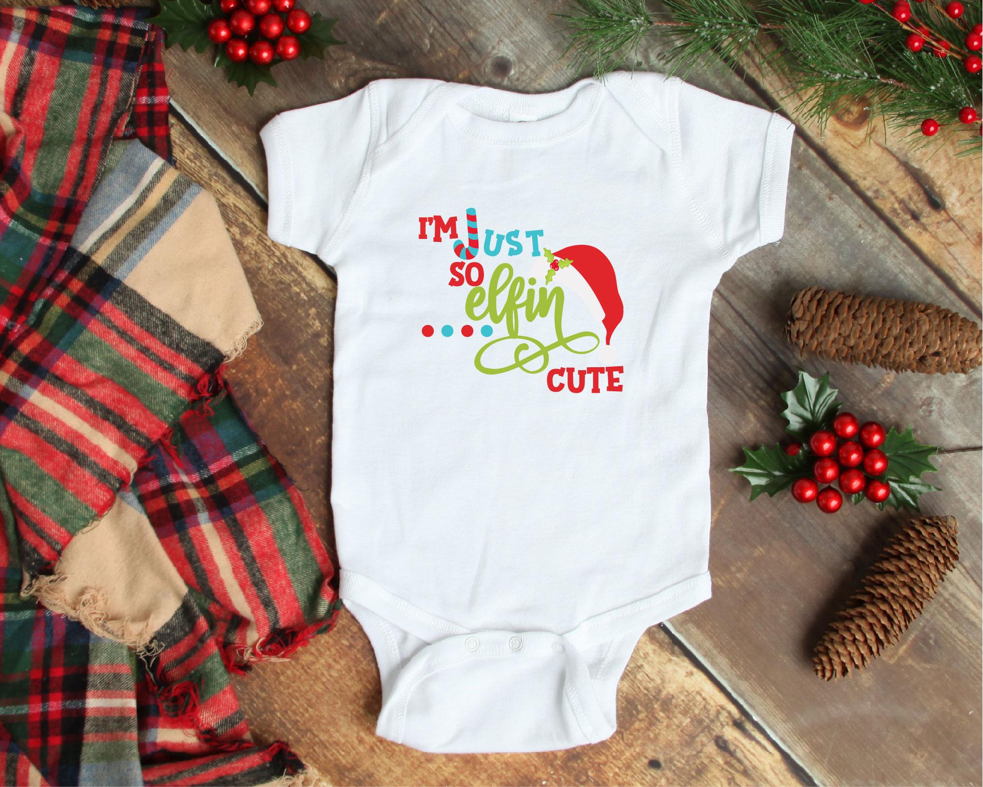 Christmas Elf Bundle, Elf SVG Sublimation, Elfin Cool SVG example image 6