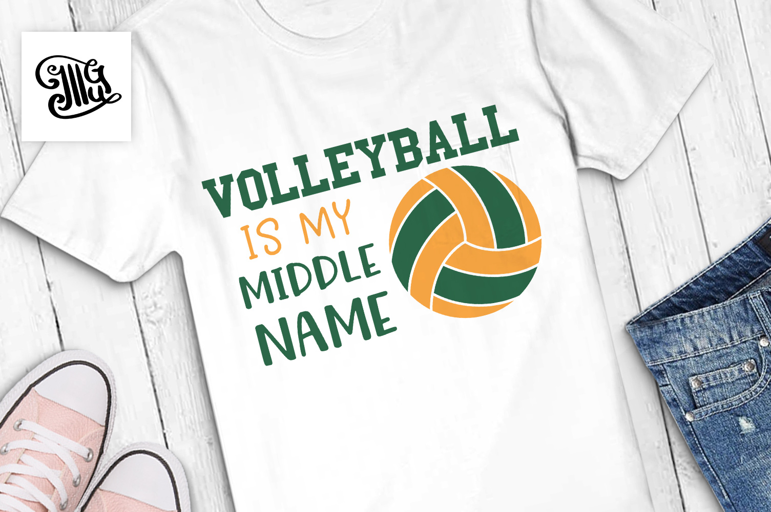 Volleyball is my middle name example image 1