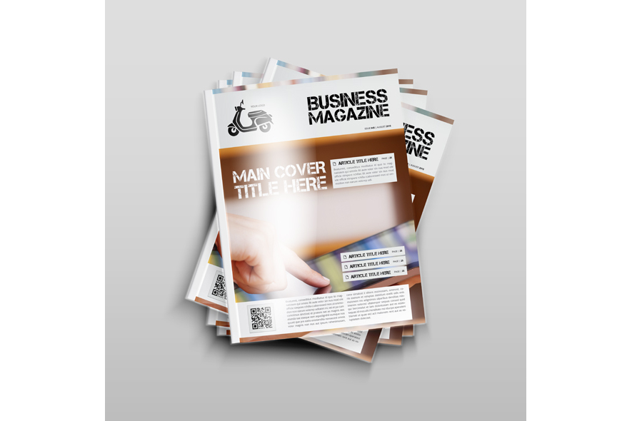 Business Magazine Template example image 4