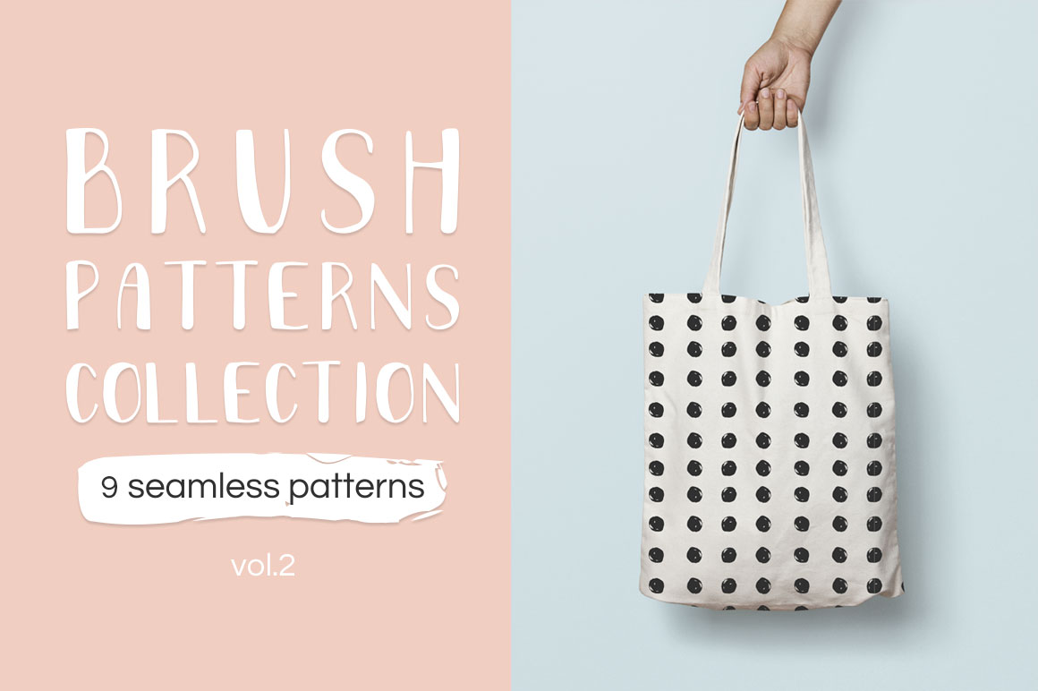 Brush pattern collection vol2 example image 3