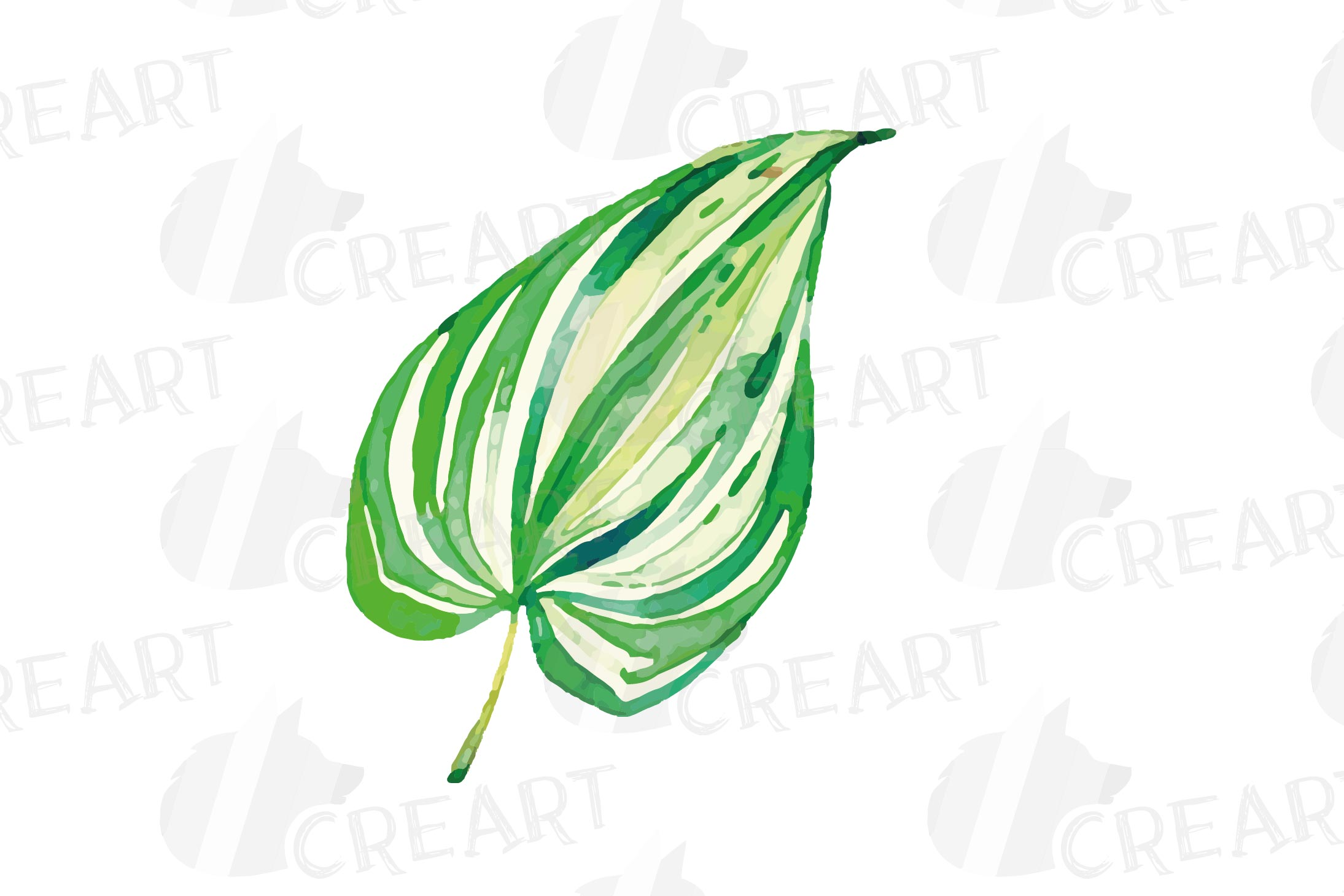 Tropical navy blue and green leaves and exotic flowers example image 22