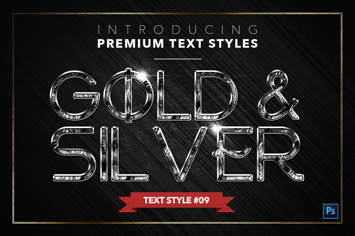 Gold & Silver #5 - 15 Text Styles example image 10