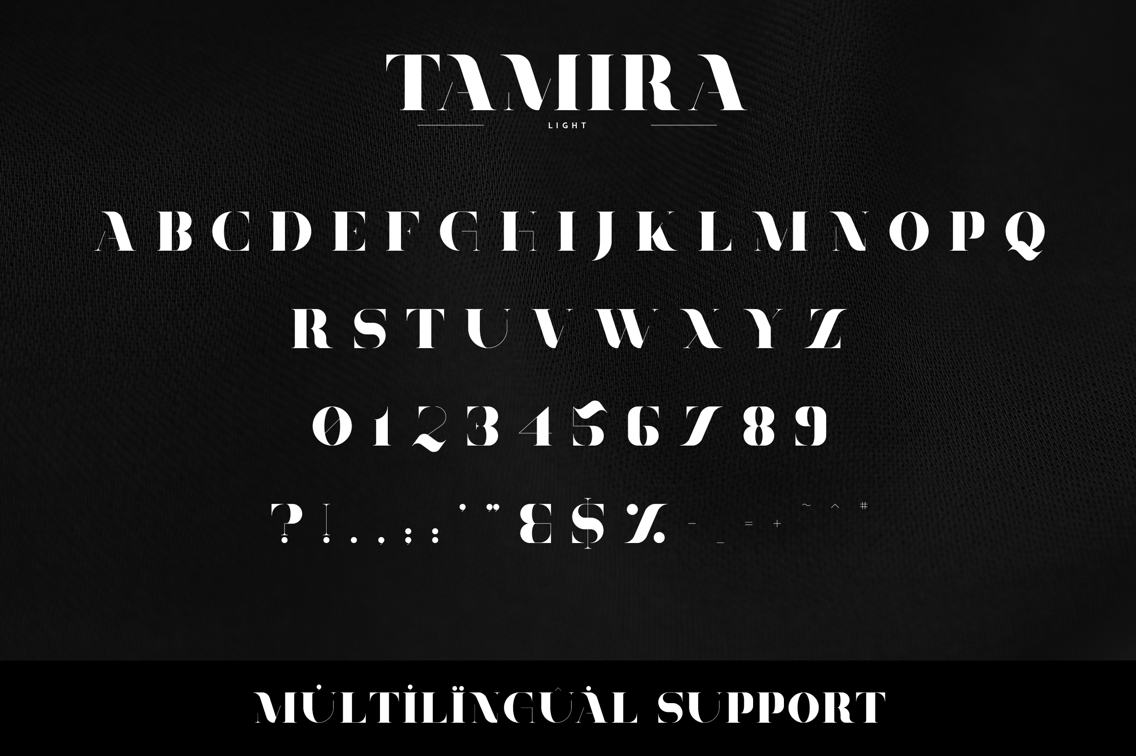 Tamira - Luxe Serif Typeface example image 8