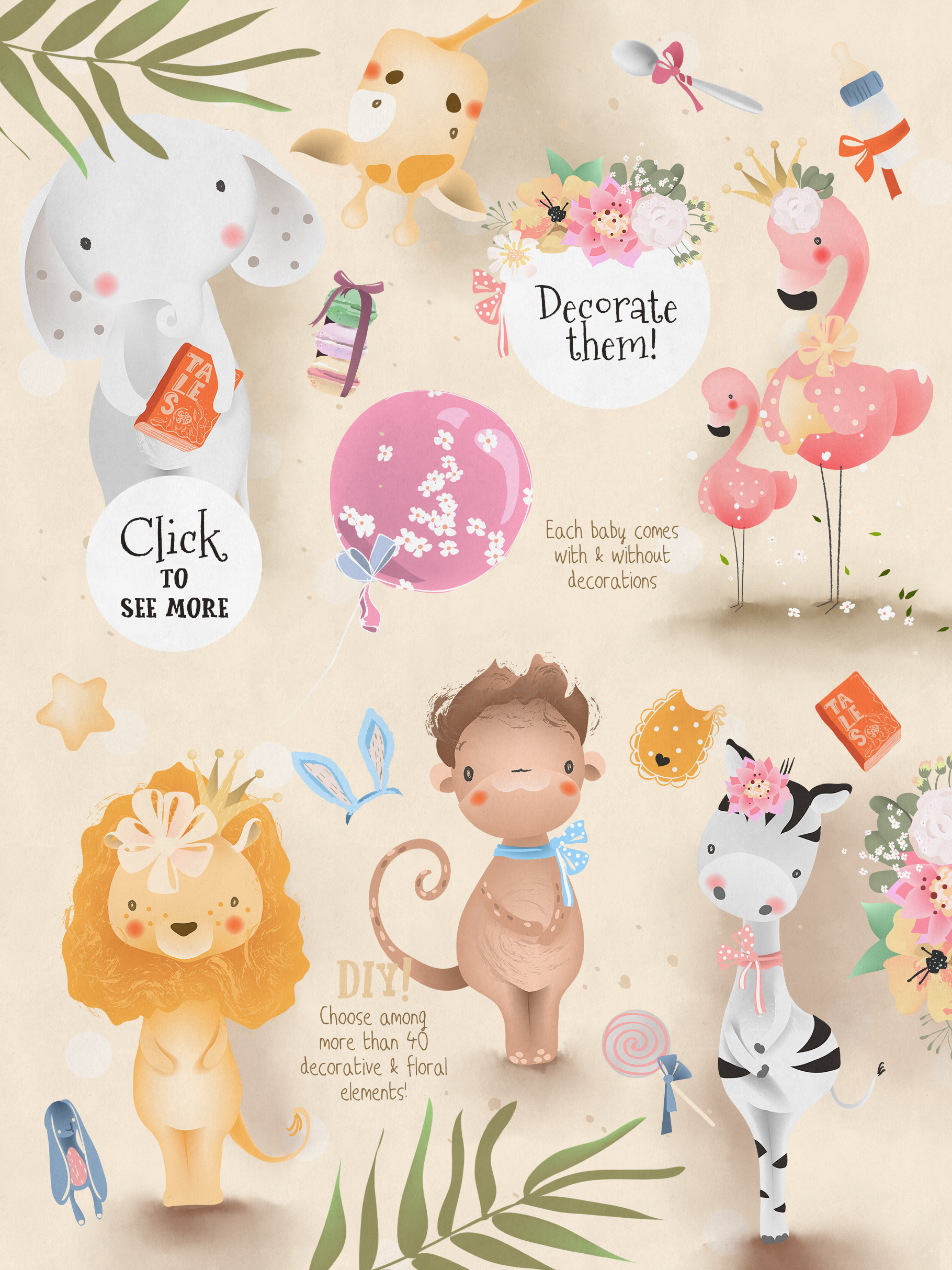 Baby Safari Collection example image 3
