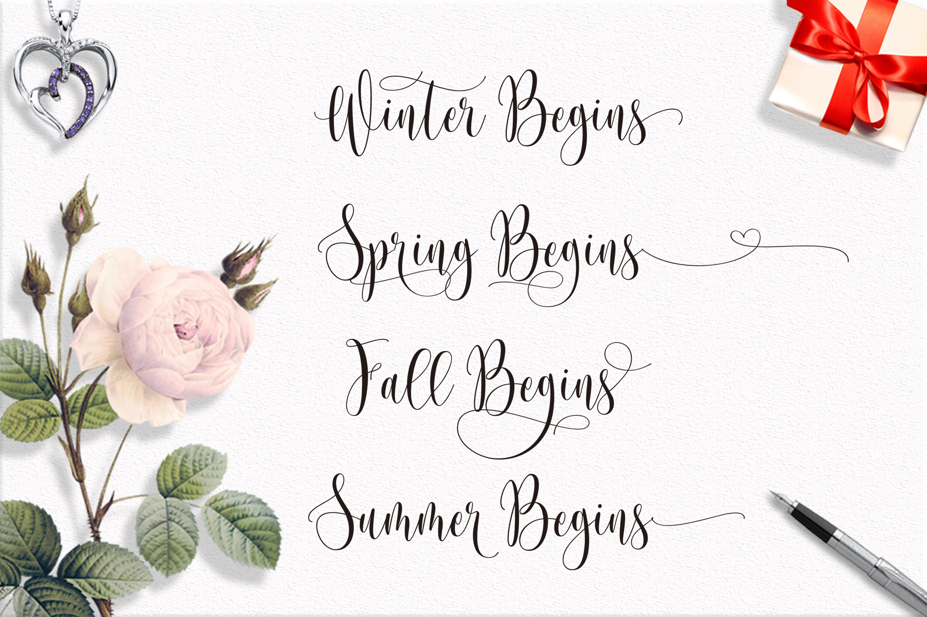 Someday Script Font example image 7