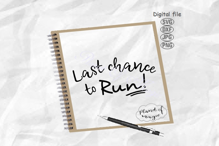 Last Chance To Run, Wedding Svg, Ring Bearer Sign Svg example image 1