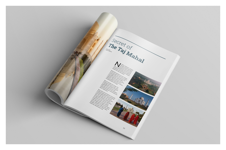 Multipurpose Magazine Template example image 10