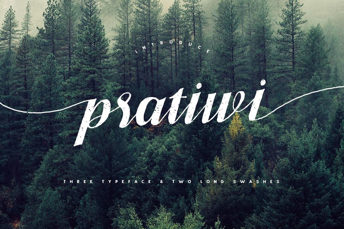 Pratiwi Typeface - Free Swashes example image 2