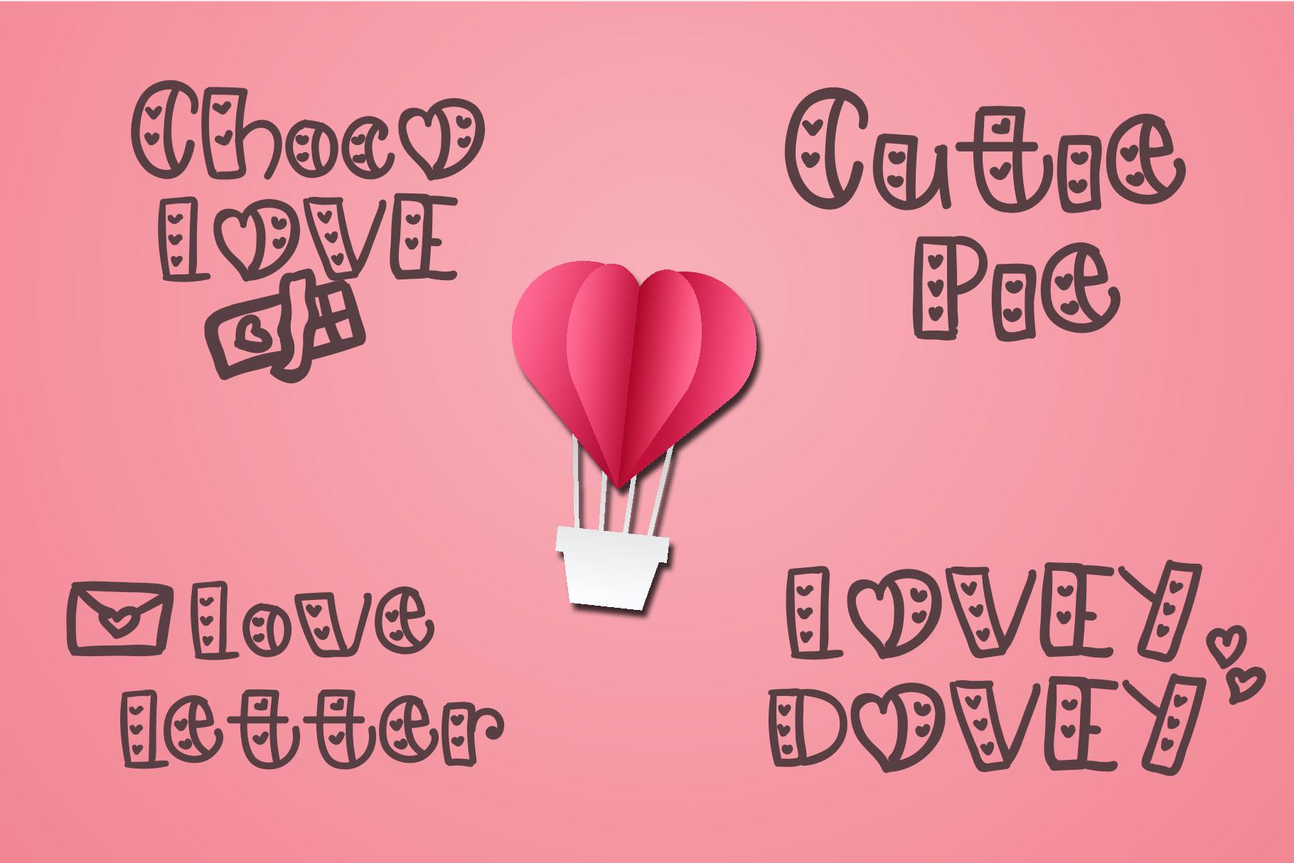 Lovely - Love Handwritten Font example image 3