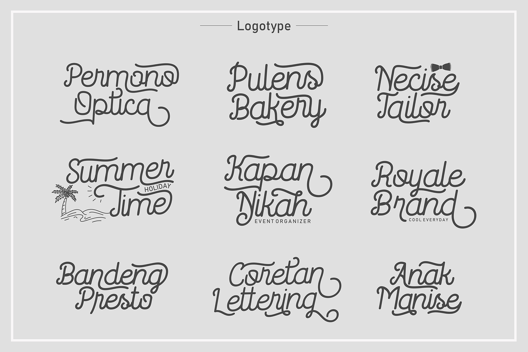 Routerline - 4 Style Font example image 9
