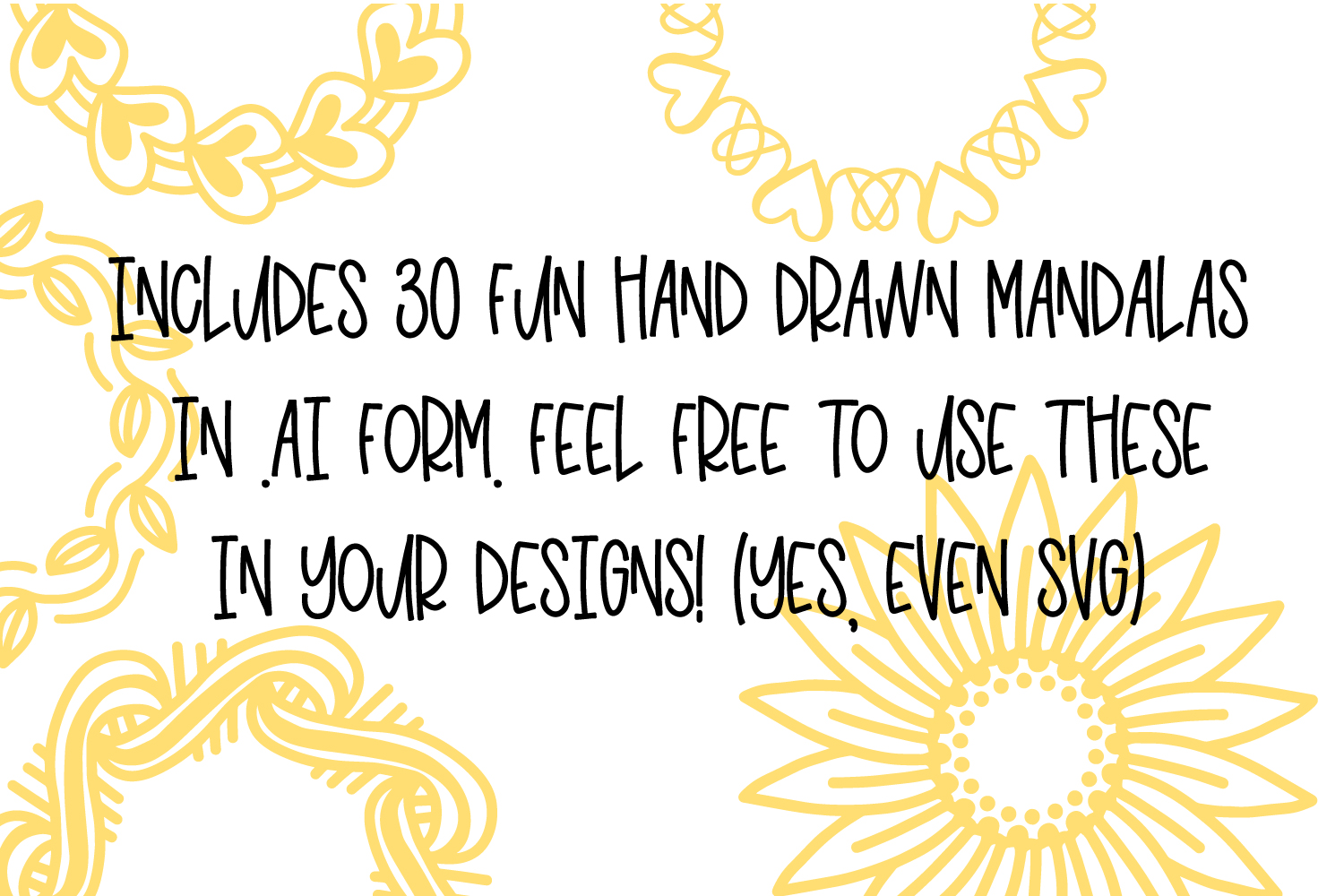 PRICKLY - A Hand Lettered Font With Mandala Extras example image 5