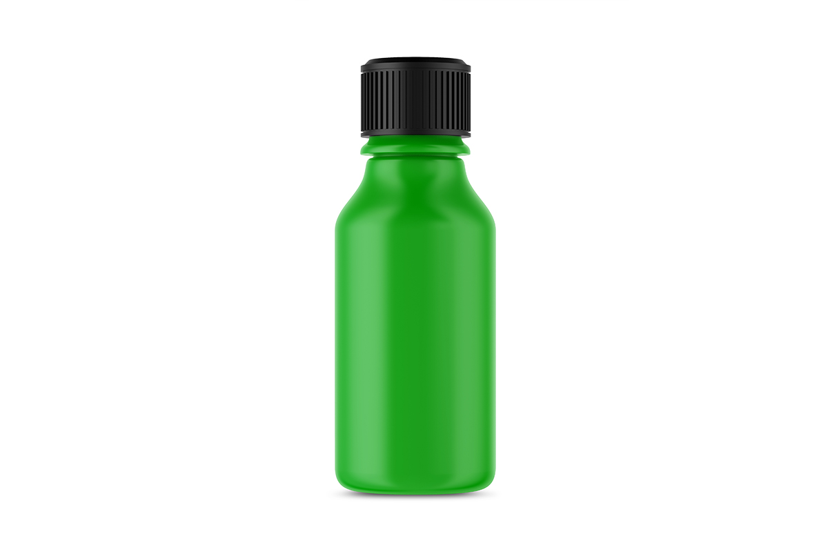 Plastic Cosmetic Bottle Mockup example image 2