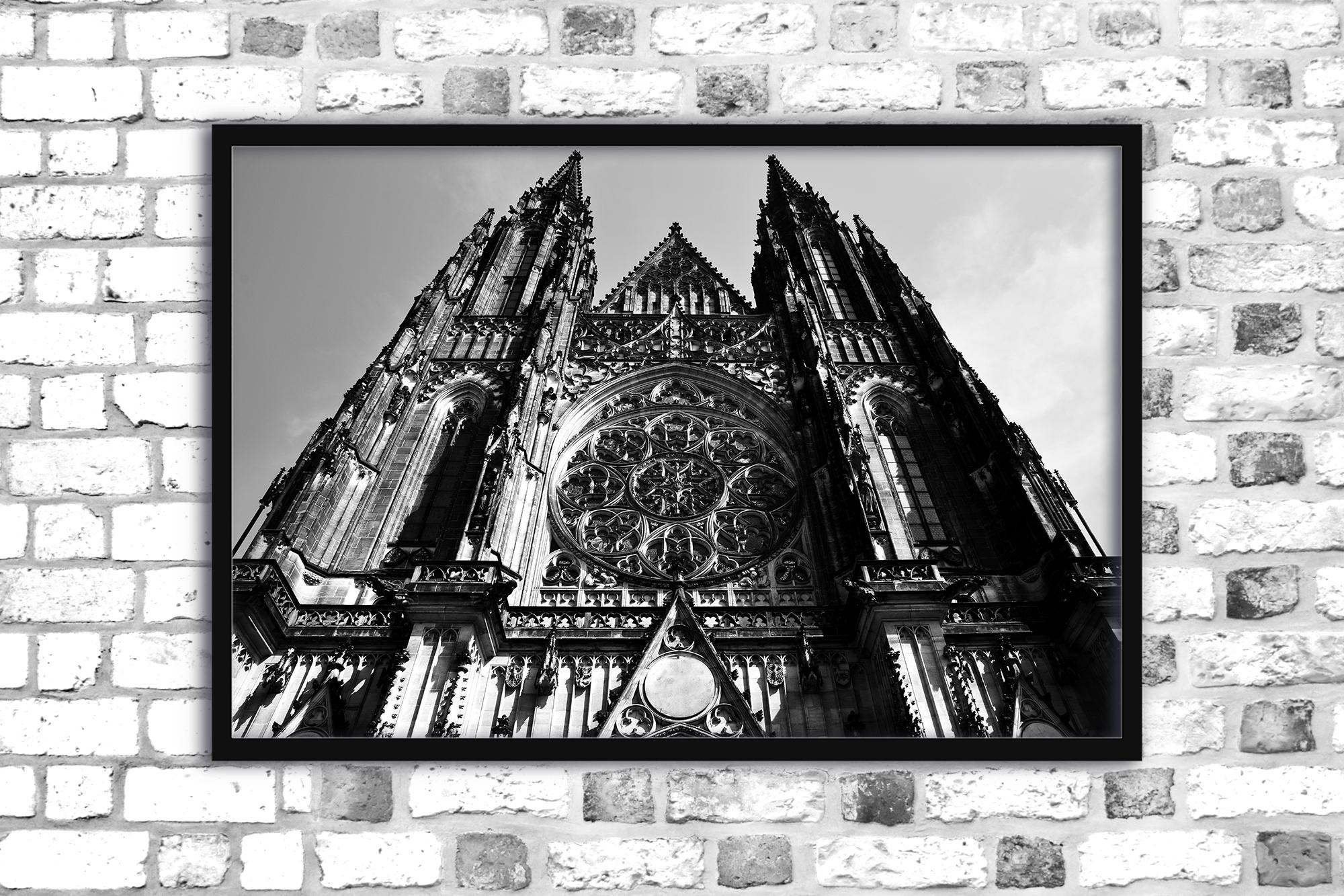 Architecture photo gothic cathedral blackandwhite gothic example image 1
