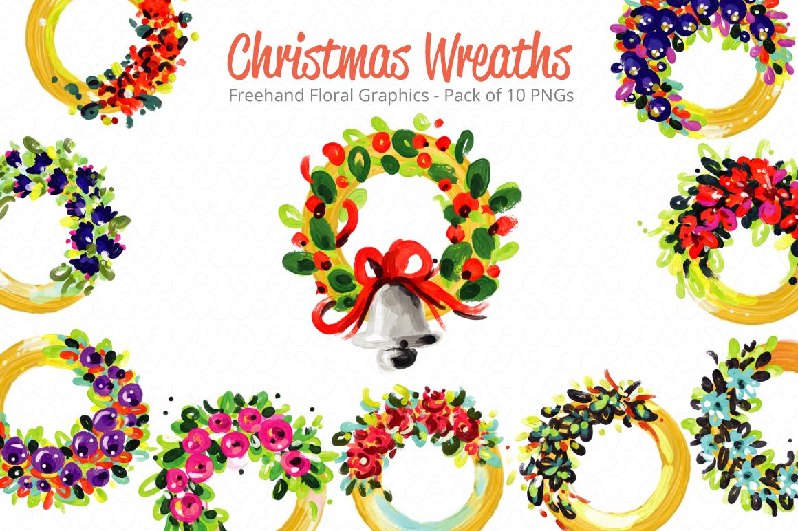 Christmas & New Year Bundle of Ornamental Mockups & Graphics example image 3