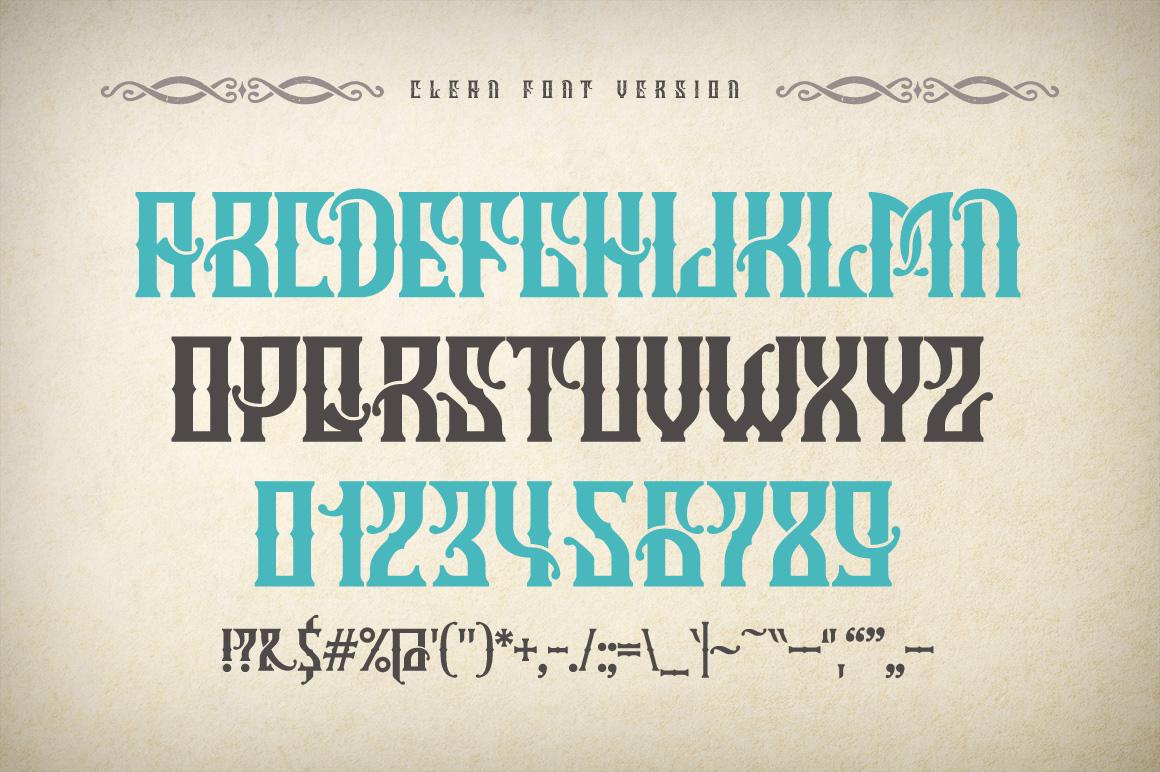 Marine fairytale typeface example image 4